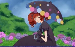 Картинка девушка, зонтик, аниме, арт, xxxHolic