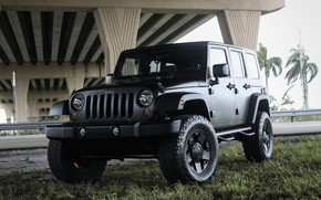 Картинка Black, Matte, Wrangler, Jeep