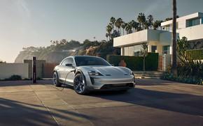 Картинка Concept, Porsche, 2018, Mission E, Cross Turismo