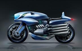 Картинка дизайн, мотоцикл, concept motor bike 01, Juan Novelletto
