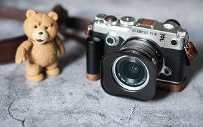 Картинка игрушка, фотоаппарат, объектив