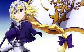 Картинка anime, flag, asian, manga, japanese, bishojo, seifuku, Fate/Apocrypha, Fate Apocrypha, Type-moon