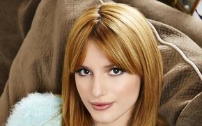 Картинка лицо, актриса, певица, рыжеволосая, Bella Thorne, Белла Торн
