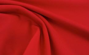 Картинка Текстура, Текстиль, Красная Ткань