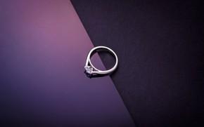 Обои камень, украшение, кольцо, бриллиант