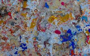Обои абстракция, краски, узор