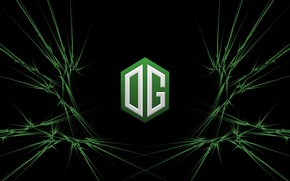 Картинка Green, Europe, Team, Dota 2, Pro, Esports, OG