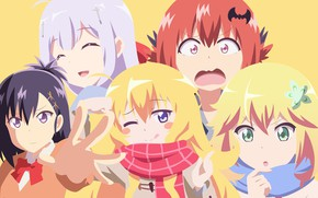 Картинка kawaii, demon, girl, devil, anime, pretty, angel, bat, face, manga, scarf, sugoi, bishojo, seifuku, lolita, …