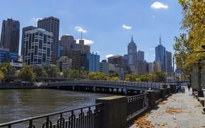 Картинка город, Австралия, день, Мельбурн