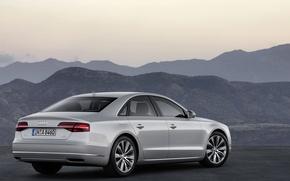 Картинка горы, Audi, A8