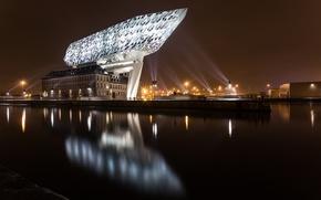 Обои Belgium, Antwerp, Havenhuis