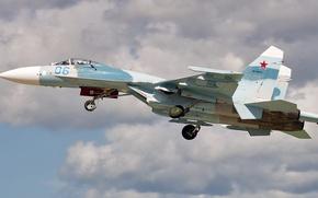 Картинка ОКБ Сухого, ПВО, Су-27П, Одноместный истребитель-перехватчик