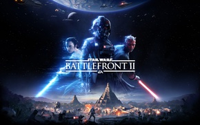 Обои Thevideogamegallery.com, Star Wars: Battlefront II, 2017, Star Wars, Game, Electronic Arts, EA