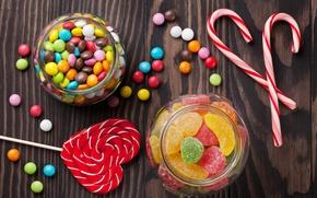 Обои colorful, конфеты, сладости, леденцы, sweet, мармелад, candy, lollipop, jelly