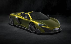 Обои McLaren, суперкар, Spider, 675LT