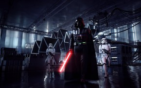 Обои Star Wars, Звездные войны, Darth Vader, Electronic Arts, DICE, Stormtrooper, EA DICE, Star Wars: Battlefront ...