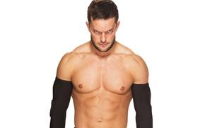 Картинка взгляд, поза, muscle, мышцы, рестлер, WWE, Финн Балор, Finn Balor, Fergal Devitt