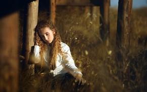 Картинка природа, девочка, Alba