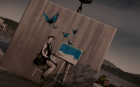 Картинка Painter, Graffiti, inFAMOUS Second Son