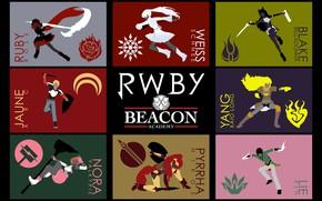 Картинка girl, sword, weapon, anime, boy, ken, blade, shield, bishojo, RWBY, japonese