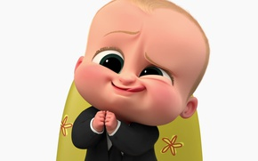 Картинка boss, baby, suit, animated film, tie, animated movie, Alec Baldwin, The Boos Baby