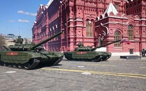 Обои парад, Т-72, боевой танк