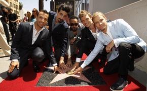 Картинка музыка, группа, Hollywood, Backstreet Boys, Nick Carter, Kevin Richardson, Brian Littrell, Howie D., A. J. …