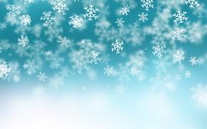 Обои текстура, обои, фон, снежинки