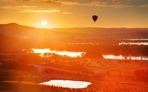 Картинка balloon, australia, canberra