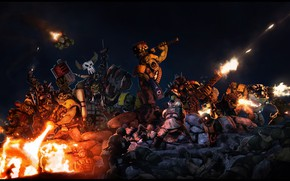 Картинка темнота, существа, воины, dakka boyzzz, erewego