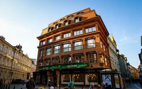 Картинка небо, city, город, фото, улица, вид, дома, Прага, Чехия, красиво, архитектура, путешествие, photo, улицы, Europe, …