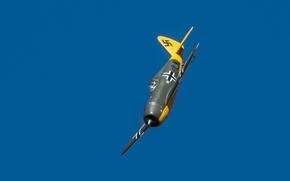 Обои P-47, Thunderbolt, небо, полет