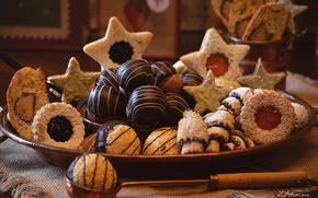 Картинка печенье, выпечка, фигурное