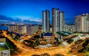 Картинка Сингапур, skyline, Singapore, Teban Garden, Jurong Town