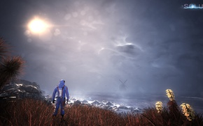 Картинка Sky, Sun, The Solus Project
