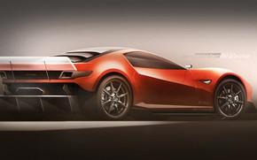 Картинка Concept, Авто, Тюнинг, Мазда, Концепт, Mazda, Car, Автомобиль, Auto, Tuning, Yasid Design, Yasid Oozeear, Mazda …