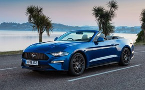 Картинка Ford, Mustang, 2018, Ecoboost, Convertible
