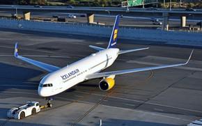Картинка крылья, Boeing, самолёт, аэродром