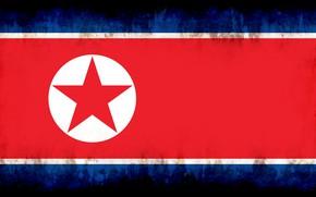 Картинка flag, burn, north corea