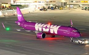 Картинка аэродром, пассажирский самолет, Airbus A321, TF-SKY