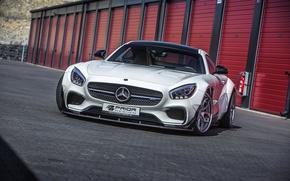 Картинка купе, Mercedes-Benz, Mercedes, суперкар, мерседес, AMG, Coupe, Prior-Design, C190, PD800GT, GT-Class