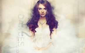 Картинка девушка, волосы, платье, арт