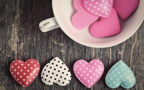 Картинка любовь, сердце, сердечки, love, wood, pink, romantic, hearts