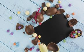 Картинка Шоколад, Конфеты, Яйца, Сладости