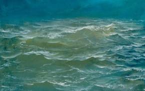 Картинка волны, вода, Море, Айбек Бегалин, 2002г, пейзаж