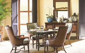 Картинка стиль, интерьер, Bahama home, столовая, Miami