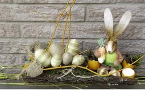 Картинка игрушки, яйца, кролик, Пасха, Праздник