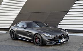 Картинка Mercedes, суперкар, родстер, мерседес, AMG, C190, GT-Class