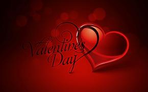 Картинка текст, сердце, вектор, открытка, День Святого Валентина
