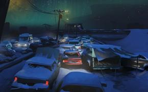 Картинка Ночь, Night, Hinterland Studio, The Long Dark, Indie game
